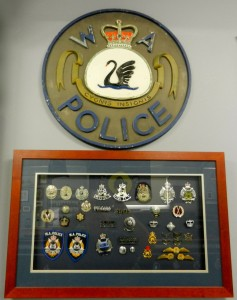 Sign from the old Cottesloe Police Station