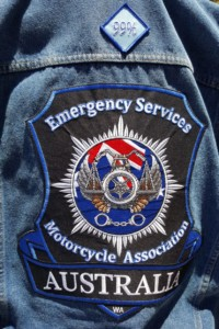 Visit by the Emergency Services Motorcycle Association